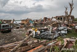 Последствия урагана в селе Малое Песьяново. Мокроусовский район. Курганская обл, ураган, разрушения