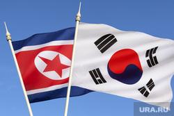 Клипарт depositphotos.com, северная корея флаг, южная корея флаг
