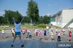 Визит Евгения Куйвашева в Тавду, детский лагерь, каникулы, летний отдых