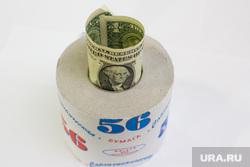 Клипарт. Деньги и прочее., кризис, доллар, туалетная бумага