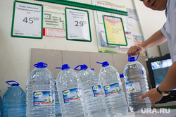 Точки продажи воды в центре Екатеринбурга, бутилированная вода, питьевая вода