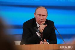 Подробно. Пресс-конференция с участием президента РФ Владимира Путина. Москва, портрет, путин владимир, жест рукой