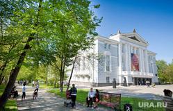 Пермь. Городские пейзажи, театр оперы и балета, город пермь, оперный театр