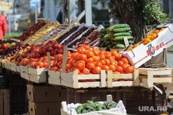 Репортаж по мусорным войнам из Миасса, овощи, помидоры, базар, торговая палатка, рынок