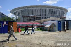 Реконструкция Центрального стадиона к ЧМ-2018 по футболу. Екатеринбург, центральный стадион, екатеринбург арена