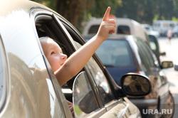 Клипарт depositphotos.com, ребенок в машине, ребенок в окне автомобиля