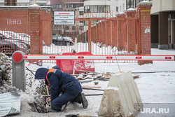 Начало ремонтных работ на Красноармейской. Екатеринбург, дорожные работы, ремонт