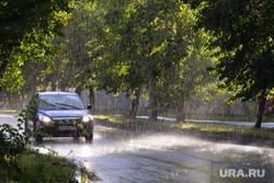 Дождь. Челябинск, машина, лето, авто, дождь