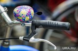 Июнь в Екатеринбурге, велосипед, звонок, тормоза, активный отдых