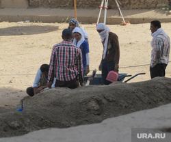 Египет, отдых туристов, археологи, раскопки, археологические раскопки