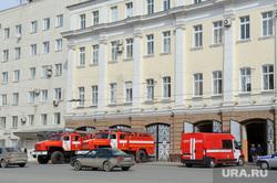 Виды Екатеринбурга, мчс россии, пожарная часть, пожарные машины, улица карла либкнехта8а