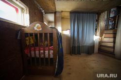 Монастырь Шад Тчуп Линг на горе Качканар, детская кроватка