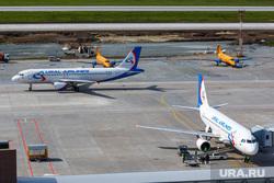 Споттинг в Кольцово. Екатеринбург, уральские авиалинии, аэропорт, самолеты, Airbus А321