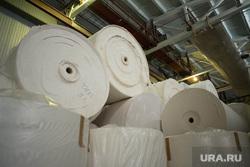 Рабочая поездка губернатора СО в Туринск, бумага, рулоны, производство