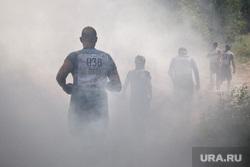 «Гонка героев-2017». Екатеринбург, дым, дымовая завеса, спорт, кросс, гонка героев, бег по пересеченной местности