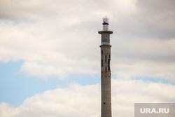 Крыша ТРЦ «Гринвич» - монтаж дирижабля. Екатеринбург, телебашня, заброшенная, вышка, недостроенная