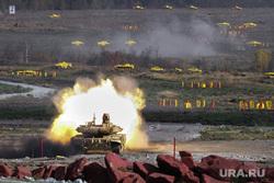 Выставка вооружений Russia Arms Expo-2013. RAE. Нижний Тагил, rae, испытательный полигон, военная техника, танк, выстрел