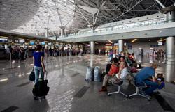 Открытая лицензия на 21.07.2015. Аэропорт Москвы., аэропорт, зал ожидания, терминал а