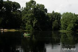 Виды Екатеринбурга, река, лодка, лес, природа, парк, лето, отдыхающие, отдых, озеро