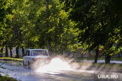 Дождь. Челябинск, дождь, лето, авто, машина