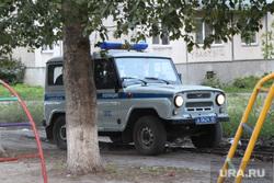 Угрозы кандидату Колесниковой Элине. задержание Курган , уаз, полицейская машина