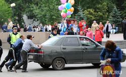 День металлурга. Мечел. Металлургический район. Челябинск., автомобиль, дпс