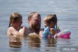 Дети купаются в реке, купающиеся, дети, дети купаются