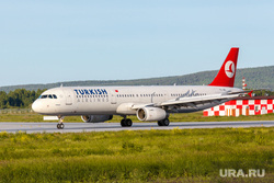 Споттинг в Кольцово. Екатеринбург, самолет, аэропорт, Airbus А321, турецкие авиалинии, turkish airlines