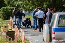 Резня на проспекте Ленина. Сургут, труп нападавшего