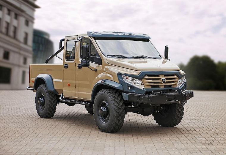Машина может перевозить 2,5 тонны груза Фото Группа ГАЗ