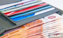 Клипарт , купюры, кредитки, пачка денег, пять тысяч, карточки, деньги