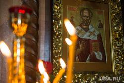 Крым., свечи, икона, храм, путешествие, николай чудотворец, православие, религия