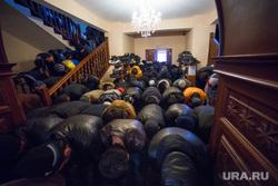 Курбан-байрам в Екатеринбурге, мечеть на  ул. Димитрова, 15., ислам, намаз, мусульмане, молитва, курбан байрам
