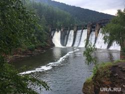 Пороги Саткинcкий район Челябинск, плотина пороги