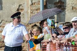 Визит Патриарха Кирилла  в село Батурино на родину Антонина Капустина, верующие, православие