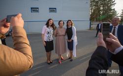 Визит губернатора ХМАО Натальи Комаровой в Сургутский район. Сургут, леснова ольга, комарова наталья