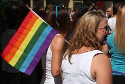 Клипарт depositphotos.com, флаг лгбт