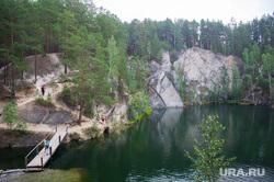Озеро Тальков камень. Сысерть, природа урала, карьер, озеро тальков камень