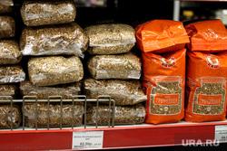 Ценники на продукты питания Курган, гречка, продукты питания, ценник