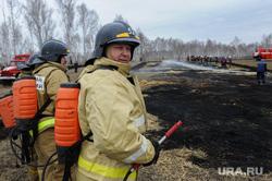 Совместные учения МЧС Челябинской и Курганской областей по тушению лесных пожаров. Челябинск, мчс, пожарный
