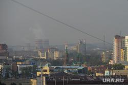Смог над городом. Челябинск, смог, выбросы, неблагоприятные метеоусловия, нму