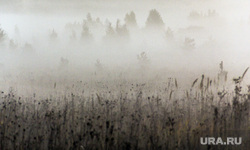 Клипарт. Сентябрь. Часть III, туман, пейзаж, осень, утро