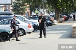 Центр города оцеплен полицией. Челябинск, оцепление, улица коммуны
