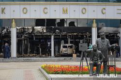 Последствия пожара в кино-концертном театре