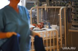 Федеральный центр сердечно-сосудистой хирургии. Кардиоцентр. Челябинск., реанимация ребенка