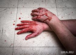 Клипарт depositphotos.com, труп, руки в крови, пятна крови, капли крови, убийство, кровь на полу