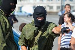 День ВДВ в Челябинске, спецназ, военный, маски-шоу, росгвардия