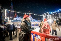 Каток на Красной площади. Москва, каток, зимние забавы, гум, вечерняя москва, иллюминация, красная площадь, новогодняя ярмарка