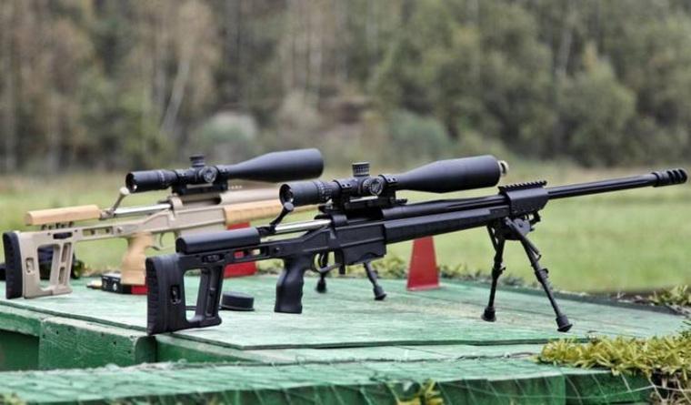 ФСБ иРосгвардия приняли навооружение новейшую снайперскую винтовку «Точность»