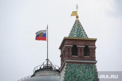 Клипарт. Москва, флаг, кремль